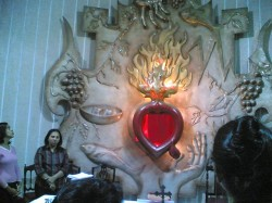 The Altar of our Sacred Heart Parish Church