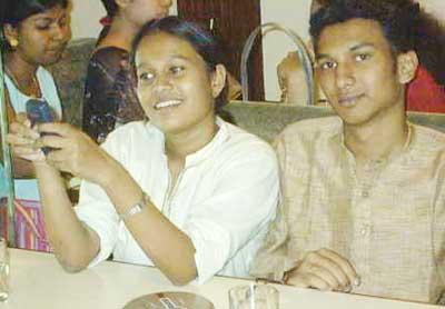Priya and Clayton