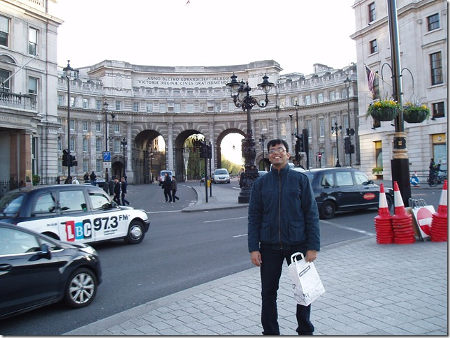 Me at Trafalgar Square