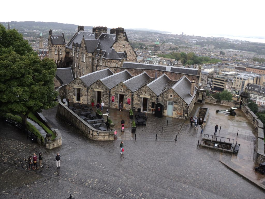 Edinburgh Castle lower level