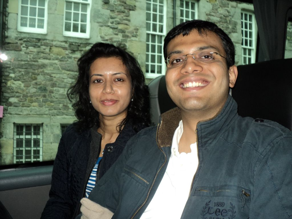 Ashwina and I set out for our 3 day tour
