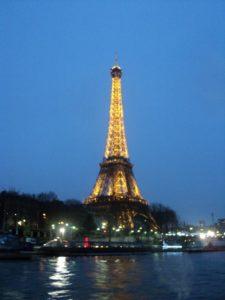 Eiffel Tower by night