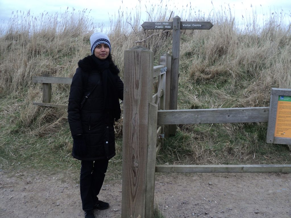 One entrance of Minsmere nature reserve