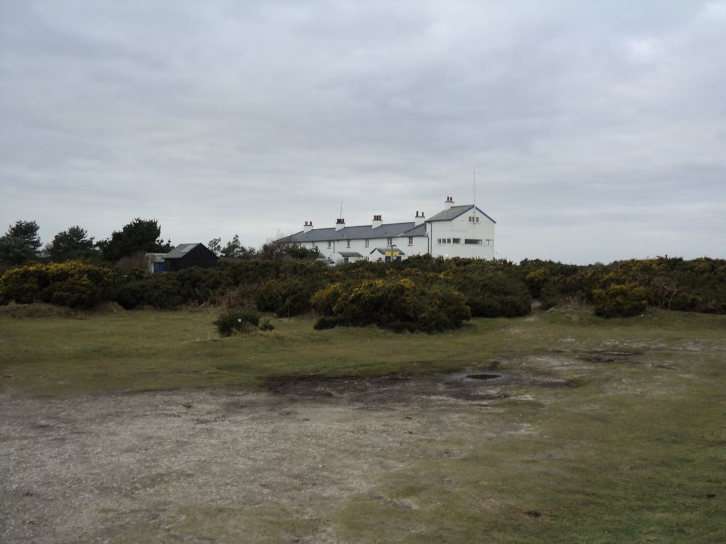 The Coastguard Cottages at Dunwich Heath
