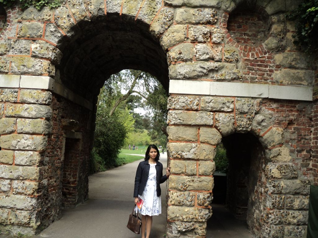 Ruined arch at Kew Gardens