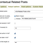 Contextual Related Posts v1.8.9