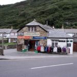 Sport shop in Boscastle