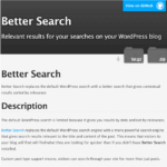 Better Search is now on Github