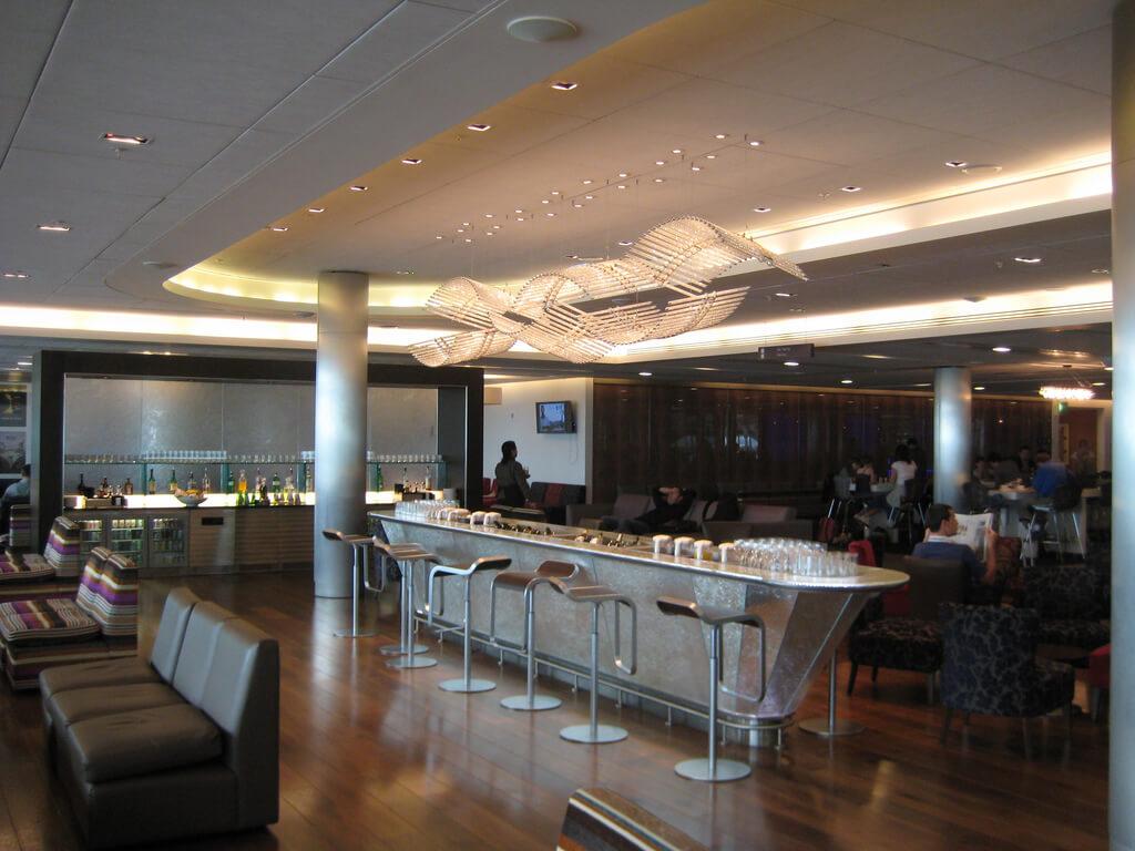BA Galleries Lounge Heathrow T5