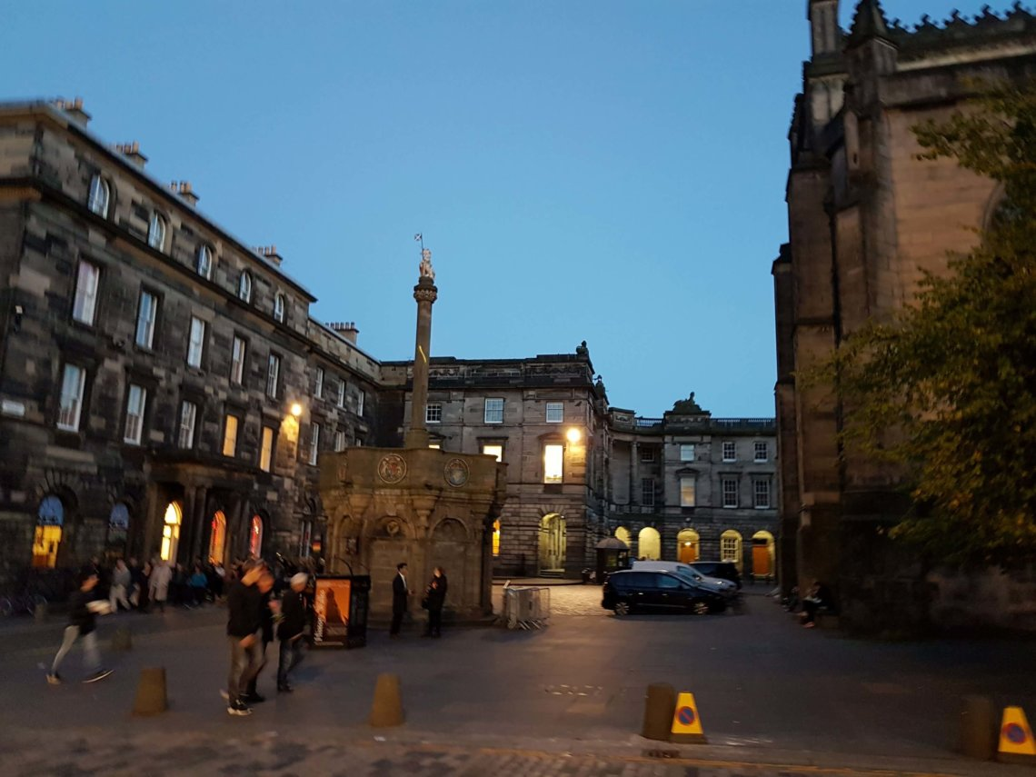 The Royal Mile at Night
