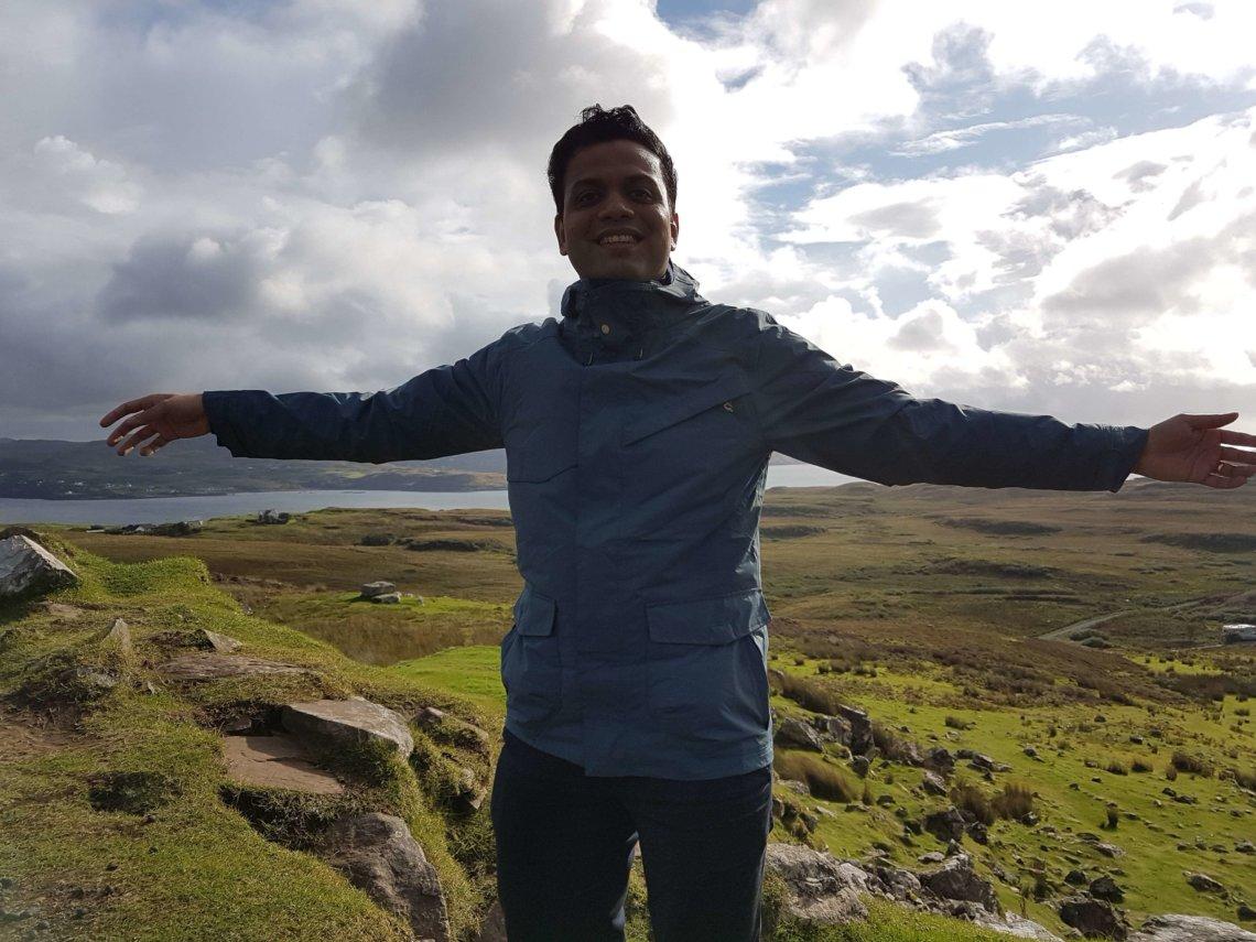 Me at the Isle of Skye