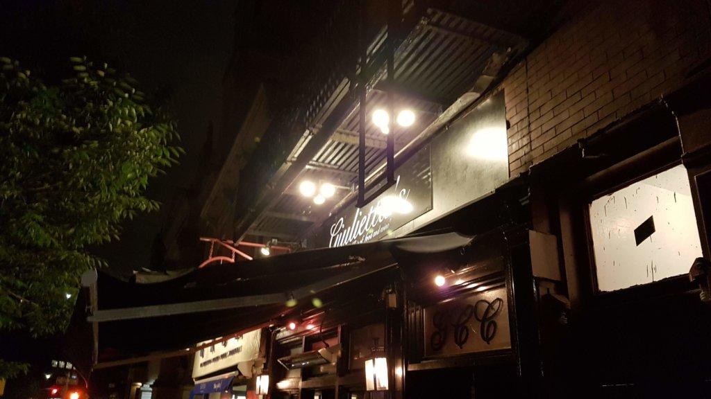 Giulietta's in Greenwich Village