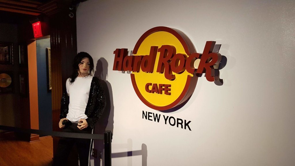 Hard Rock Cafe, Times Square, New York