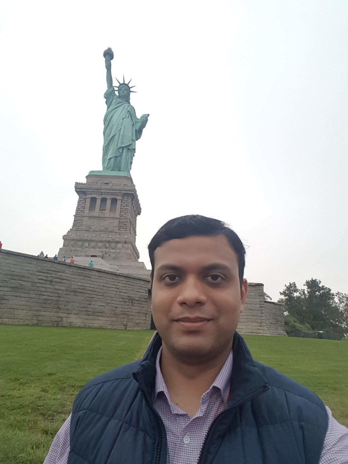 Me and Lady Liberty