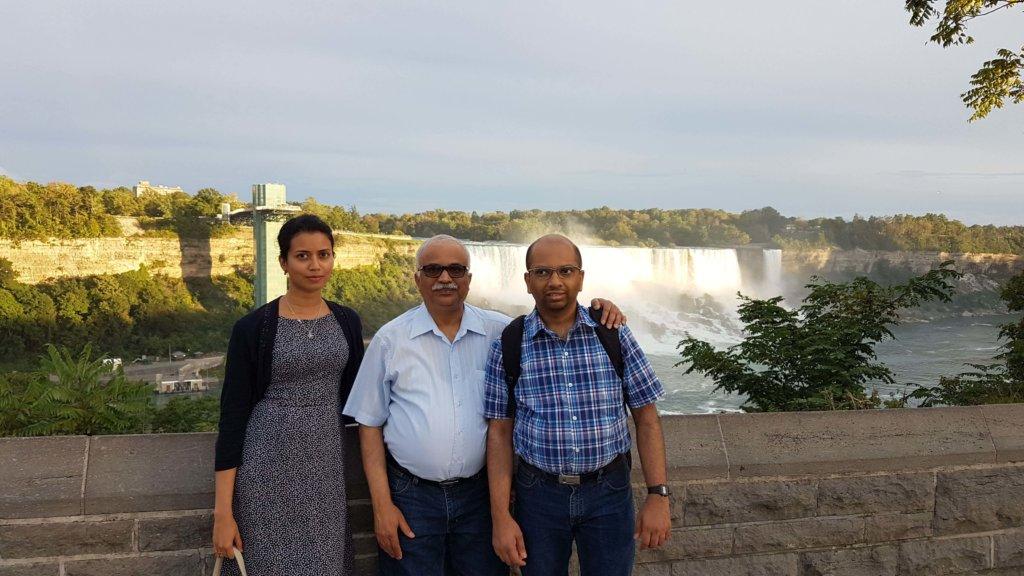 Ashwina, Dad and Arun