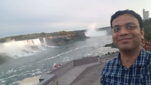 With both the falls behind me