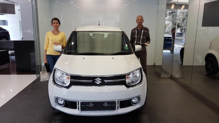Ashwina, her dad and the Ignis