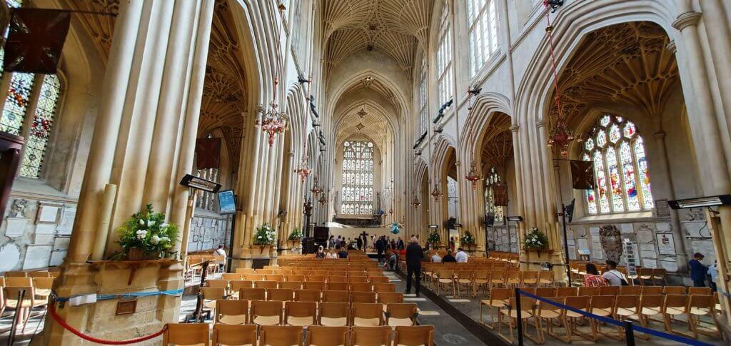 Inside the Bath Abbey