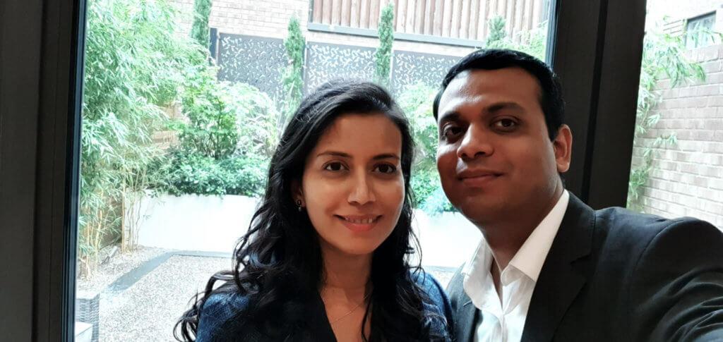 Ajay and Ashwina