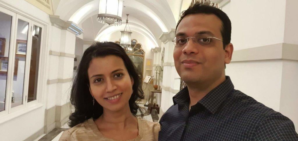 Ashwina and I - Selfie time!