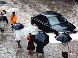 Flooded Mumbai