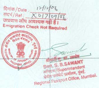 ECNR Stamp