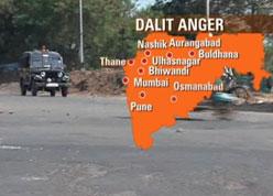 Regions of Dalit Violence