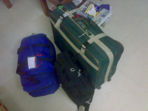 The Luggage that Ajay carried
