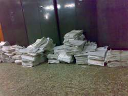 Papers at the University